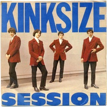 The Kinks – <cite>Kinksize Session</cite> EP album art