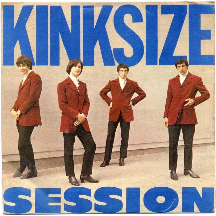 The Kinks – Kinksize Session EP album art 1