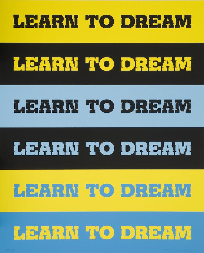Learn to Dream by John Baldessari 2