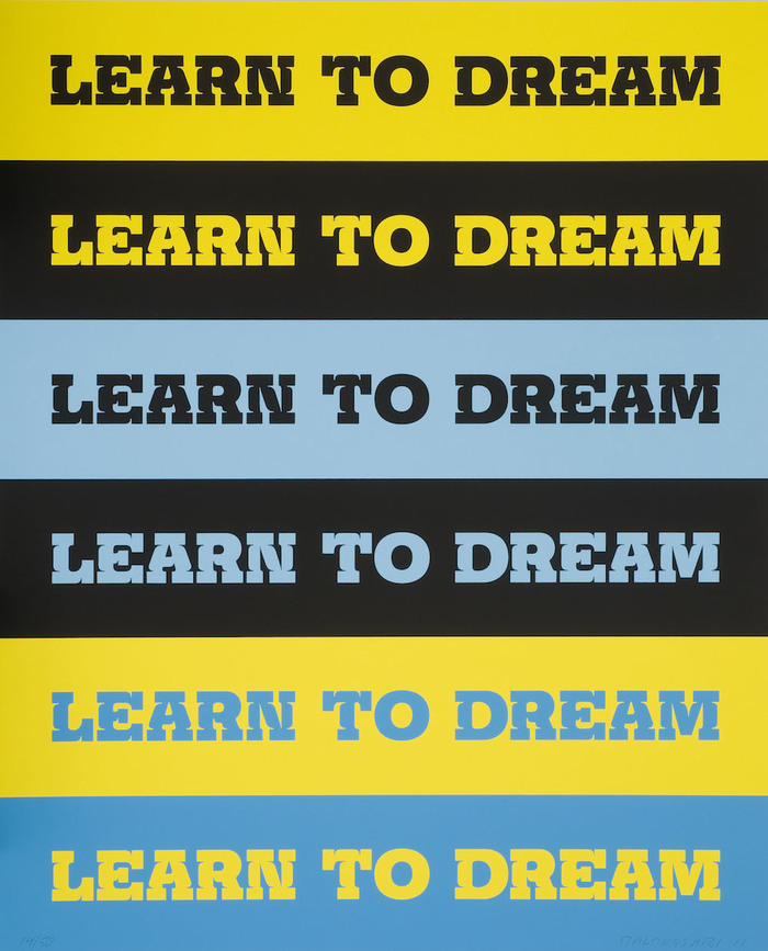 Learn to Dream by John Baldessari 2