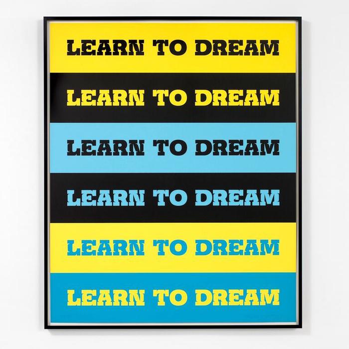 Learn to Dream by John Baldessari 1
