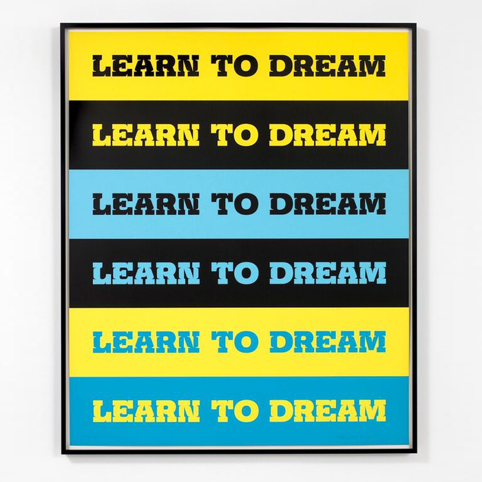 Learn to Dream by John Baldessari 1