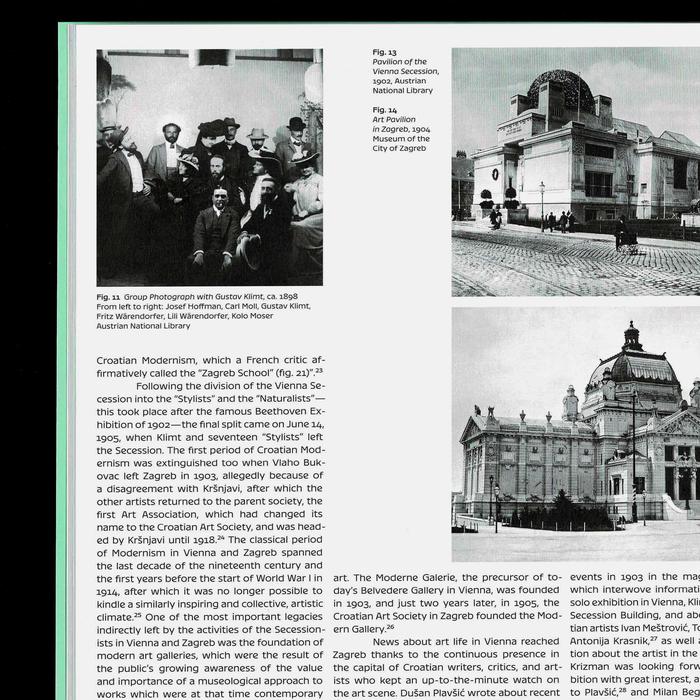 The challenge of modernism: Vienna and Zagreb around 1900 2