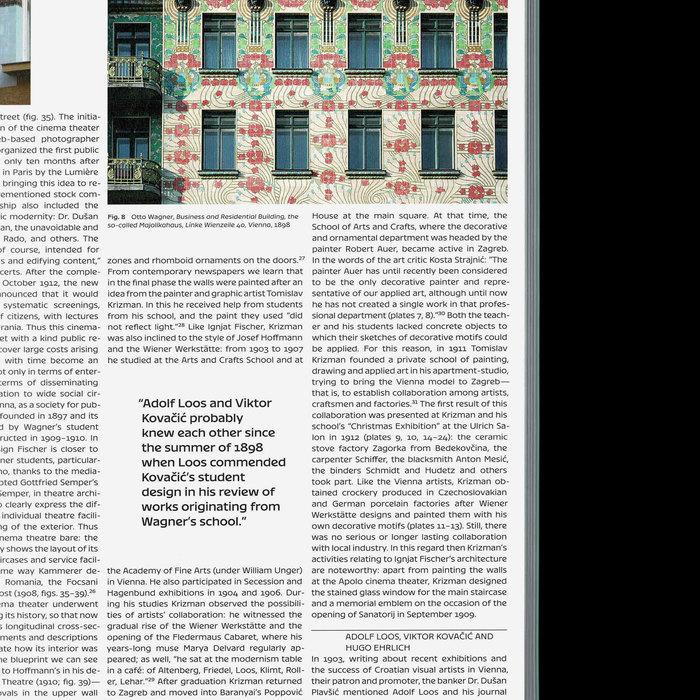 The challenge of modernism: Vienna and Zagreb around 1900 7