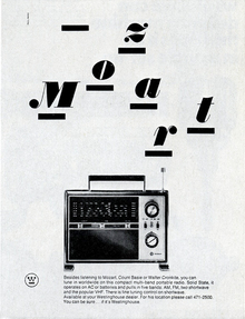 Westinghouse product ads by Paul Rand