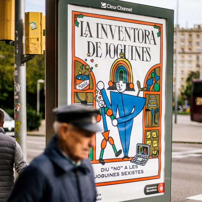 Benvinguda Màgia, Barcelona Christmas campaign 2019 1
