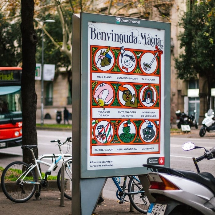Benvinguda Màgia, Barcelona Christmas campaign 2019 7