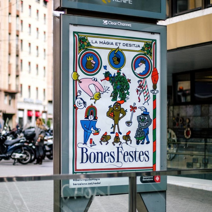 Benvinguda Màgia, Barcelona Christmas campaign 2019 8