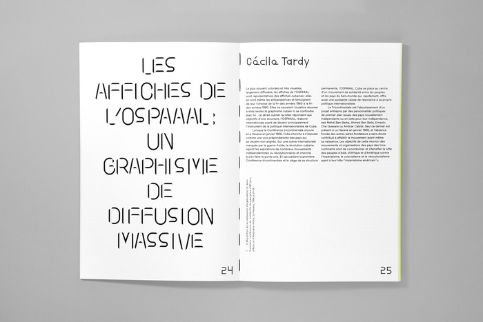 Affiches Cubaines: Révolution et Cinéma, MAD Paris (catalog) 3
