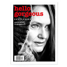 <cite>Hello gorgeous</cite> magazine