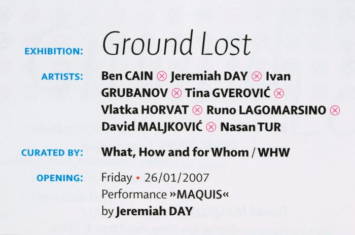 Ground Lost 3