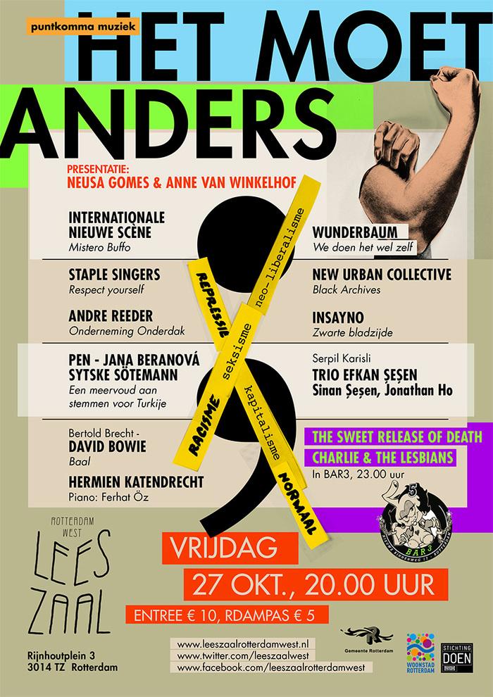 Visual identity Leeszaal Rotterdam West 2