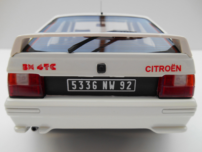 Model car.