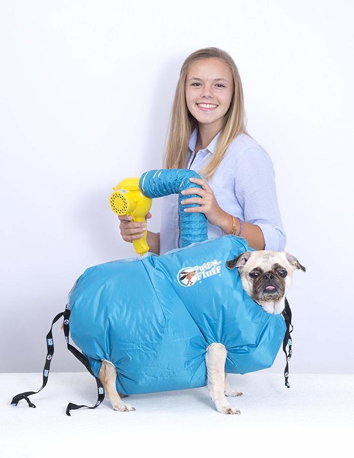 Puff-N-Fluff dog dryer 3