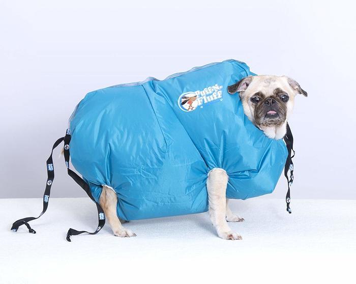 Puff-N-Fluff dog dryer 2