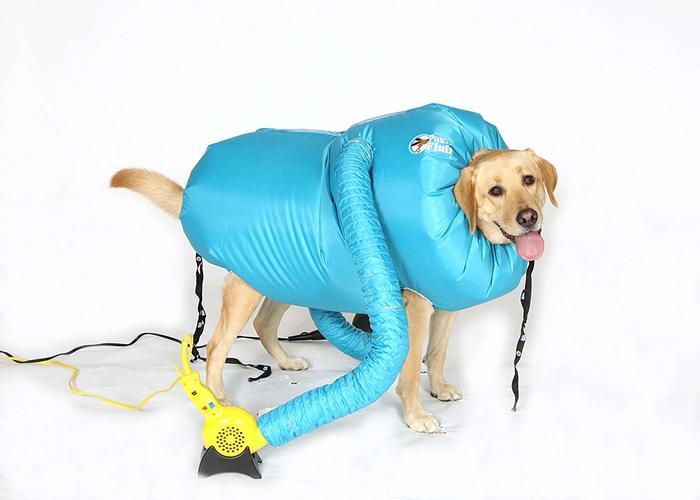 Puff-N-Fluff dog dryer 4
