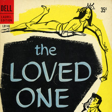 <cite>The Loved One</cite> by Evelyn Waugh (Dell)