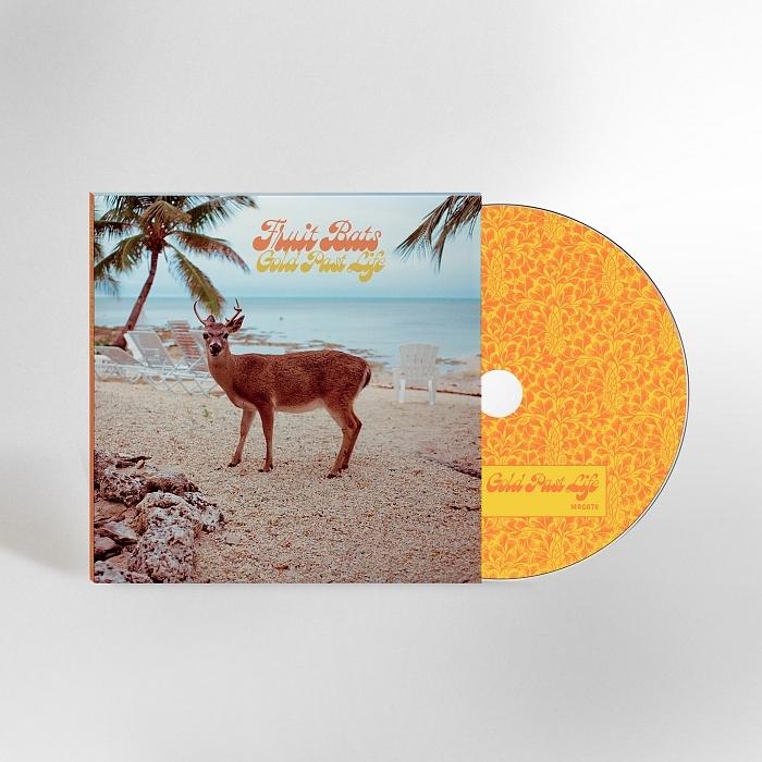 Fruit Bats – Gold Past Life album art 6
