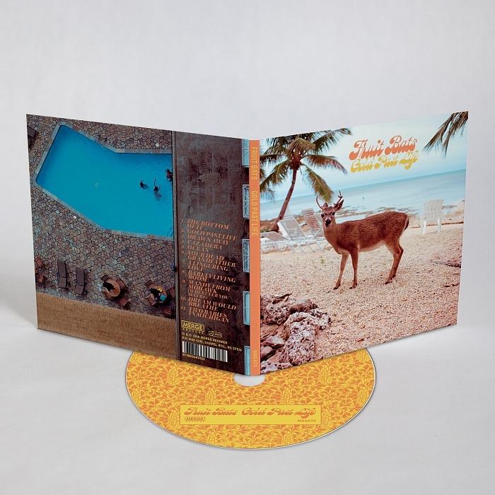 Fruit Bats – Gold Past Life album art 7
