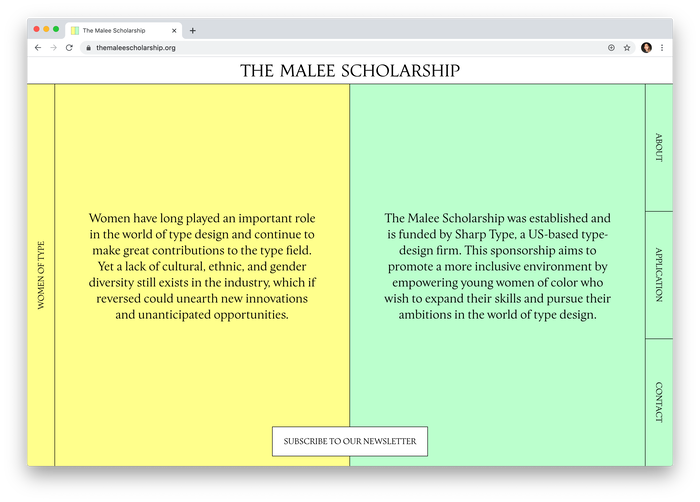 The Malee Scholarship 1