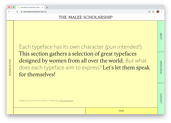 The Malee Scholarship 3