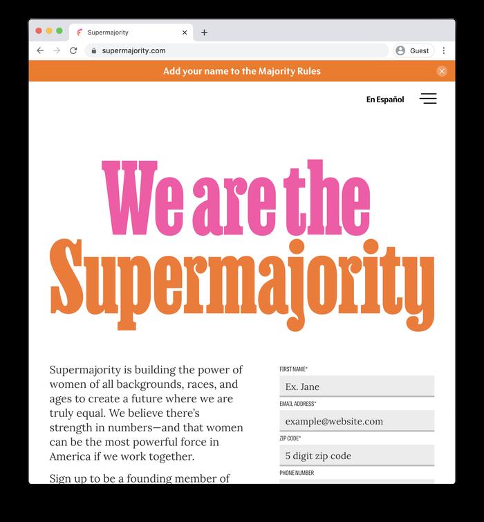Supermajority identity system 3