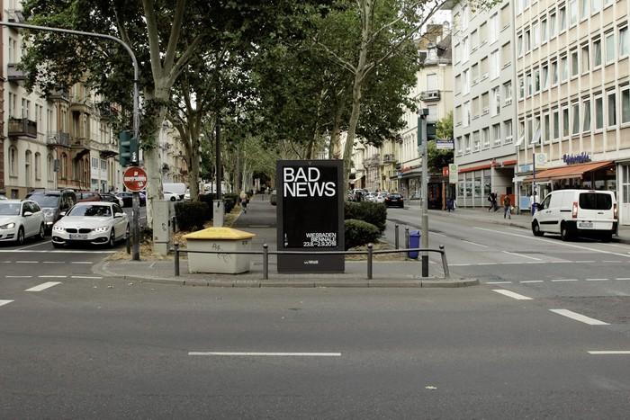 Bad News, Wiesbaden Biennale 2