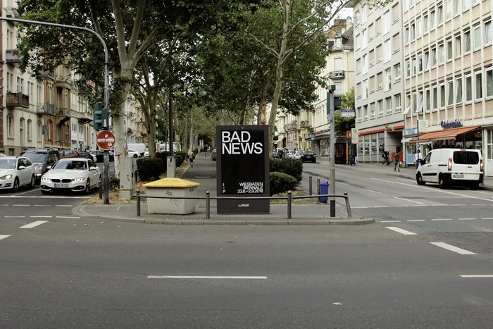Bad News, Wiesbaden Biennale 2