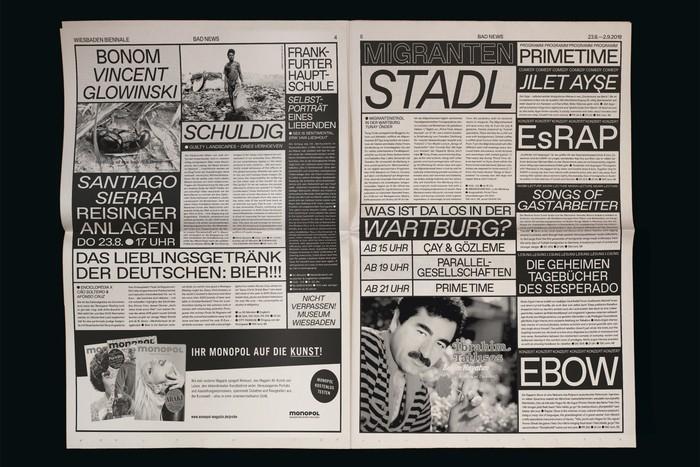 Bad News, Wiesbaden Biennale 6