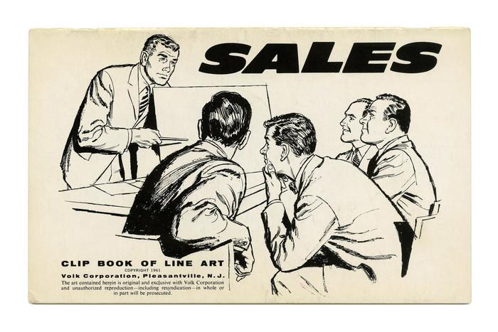"""Sales"" (No. 331), again with Filmotype Ebony."