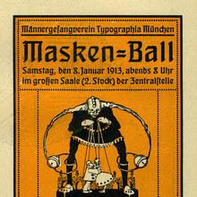 Masken-Ball, Männer-Gesangverein Typographia München