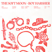 The Soft Moon and Boy Harsher at Valley Bar