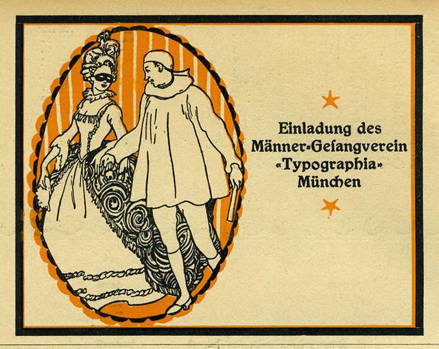 Masken-Ball, Männer-Gesangverein Typographia München 2