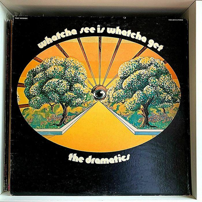 The Dramatics – Watcha See Is Whatcha Get album art 1