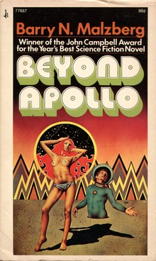 <cite>Beyond Apollo</cite> by Barry Malzberg (Pocket Books)