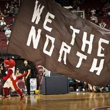 """We the North"" flags by <span>Toronto Raptors</span>"