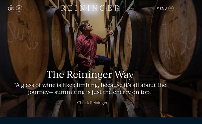 Reininger Winery 1