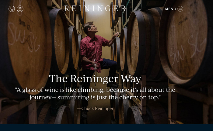 Reininger Winery 1