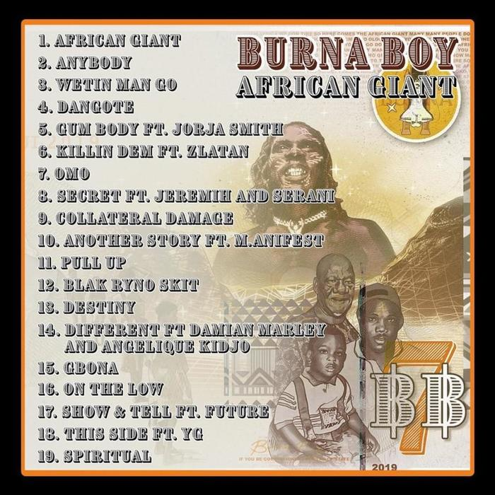 African Giant – Burna Boy 6