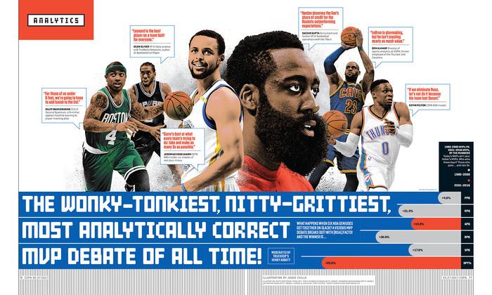"""ESPN magazine, 27 March 2017, """"The Analytics Issue"""" 4"""