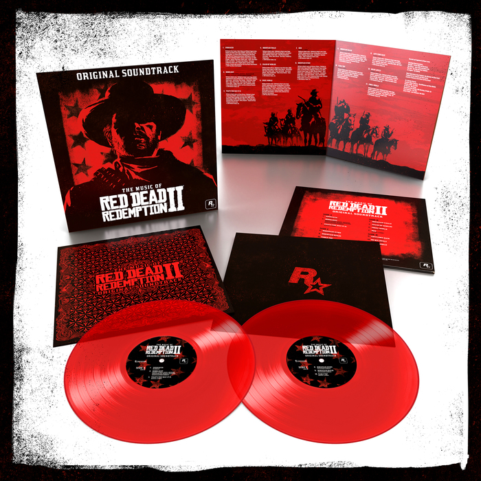 Vinyl release of The Music of Red Dead Redemption 2: Original Soundtrack, Lakeshore Records, 2019.