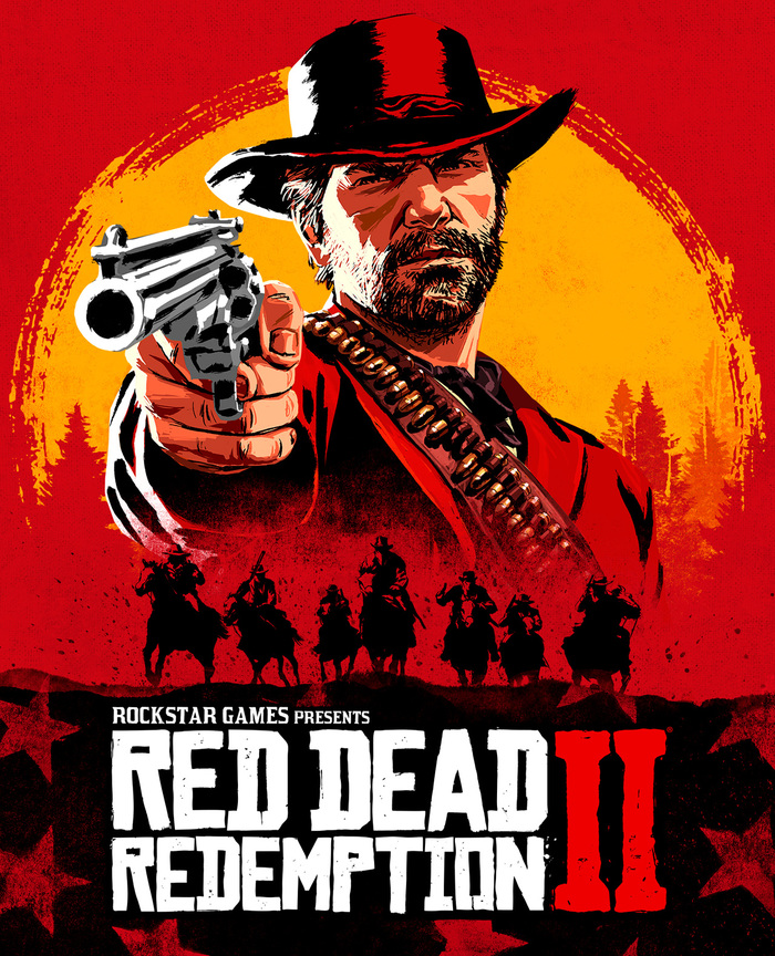 Red Dead Redemption II cover art