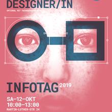 Berufskolleg Grafik-Design Lahr, Infotag 2019 poster