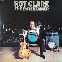 Roy Clark – <cite>The Entertainer</cite> album art