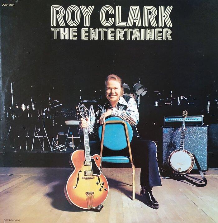 Roy Clark – The Entertainer album art 1