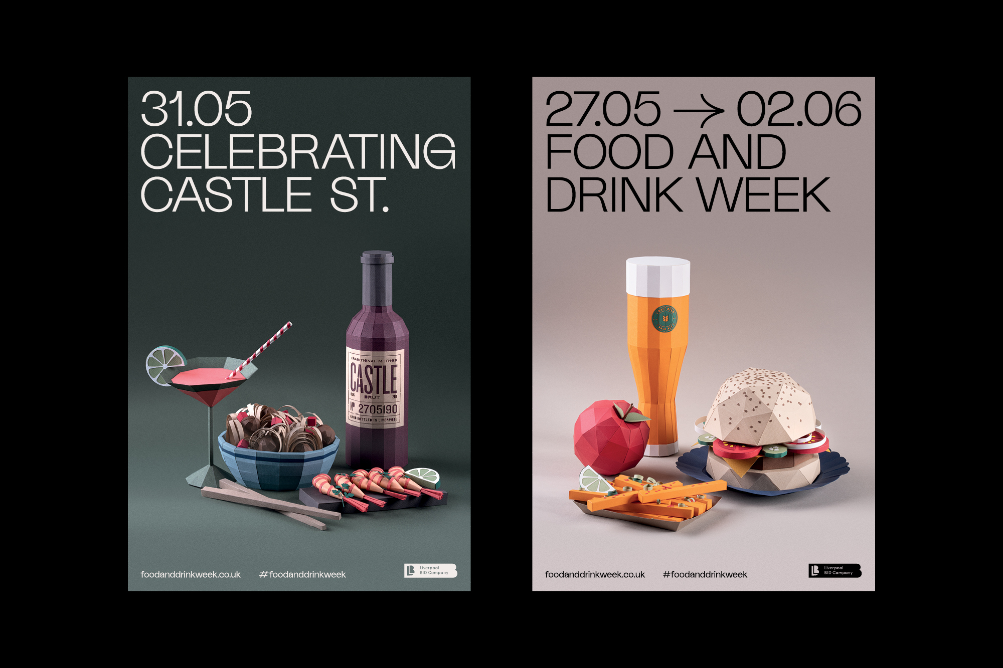 Food And Drink Week Fonts In Use