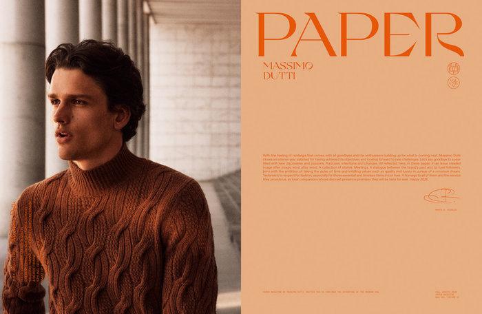 Massimo Dutti – Paper magazine, Vol. IV, 2020 6