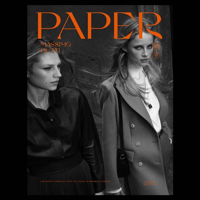 Massimo Dutti – Paper magazine, Vol. IV, 2020 1