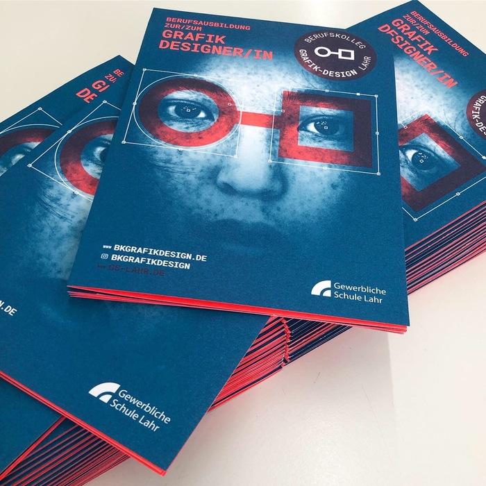 Berufskolleg Grafik-Design Lahr, Infotag 2019 poster 3