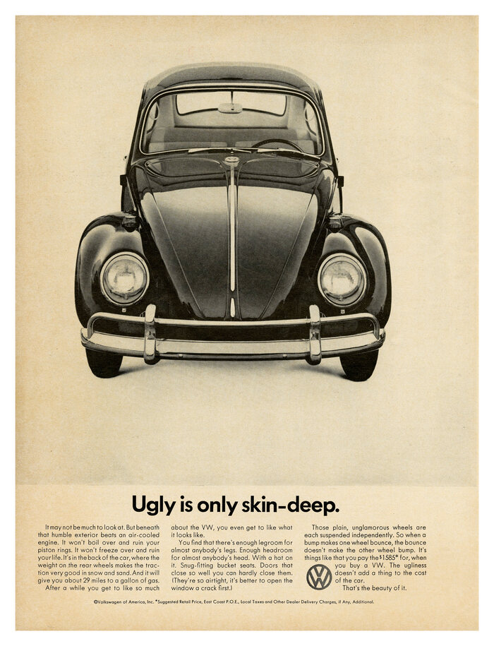 """Ugly is only skin-deep"", 1966."